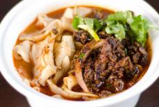 SPICY CUMIN LAMB HAND-RIPPED NOODLES IN SOUP