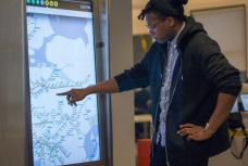 New York City Subway Touchscreens - Business Insider