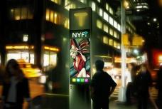 High-tech payphone concept with free Wi-Fi wins NYC design challenge