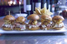 Clams and Lobster Sliders - The Clam