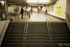 The voices of NYC subway