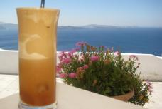 Instead of calorie infused frappucinno, Greeks sips on fantastically smooth Frappé to cool off