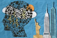 New Yorker State of Mind (graphic by B. Mar)