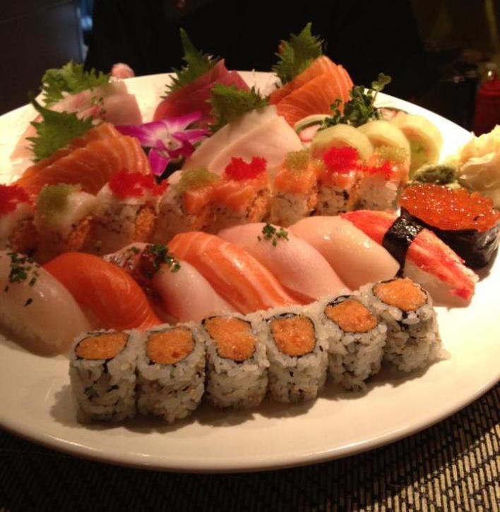 Amber Signature Sushi Platter