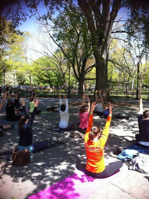 Free Yoga NYC - Tompkins Square Park