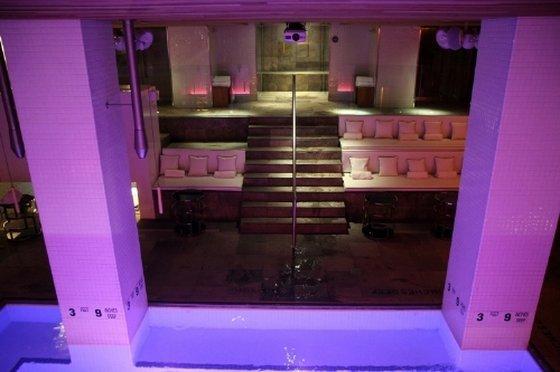 indoor pool bar. Modren Pool Roomate Grace Pool Lounge View Inside Indoor Bar