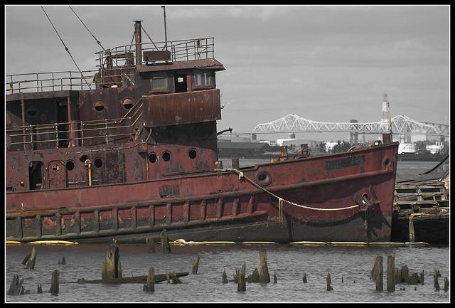 Staten Island Boat Graveyard