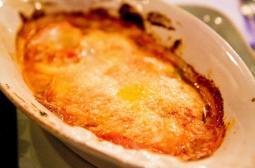 Gamberoni parmigiano, Enoteca Maria
