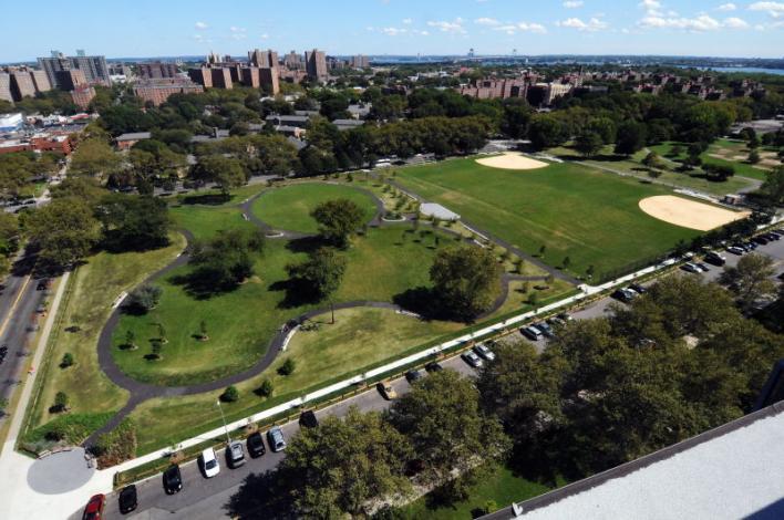 Soundview Park Aerial