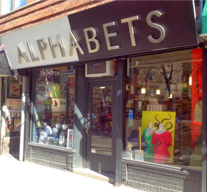Alphabets Shop