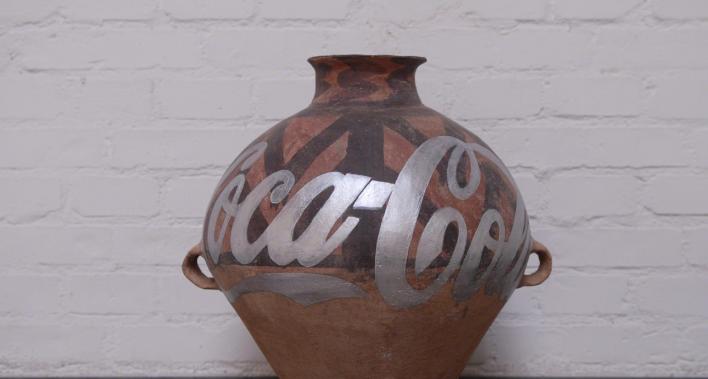 Coca-Cola Vase - Ai Weiwei