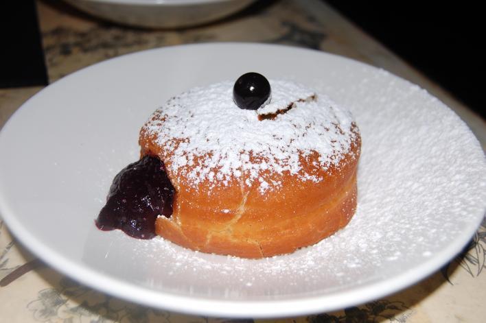 Foie Gras Doughnut at Do or Dine