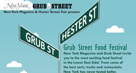 Grub Street Food Festival Poster