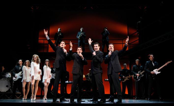 Jersey Boys Broadway Musical