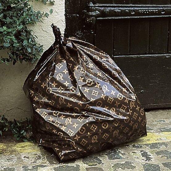 LV Trash Bag