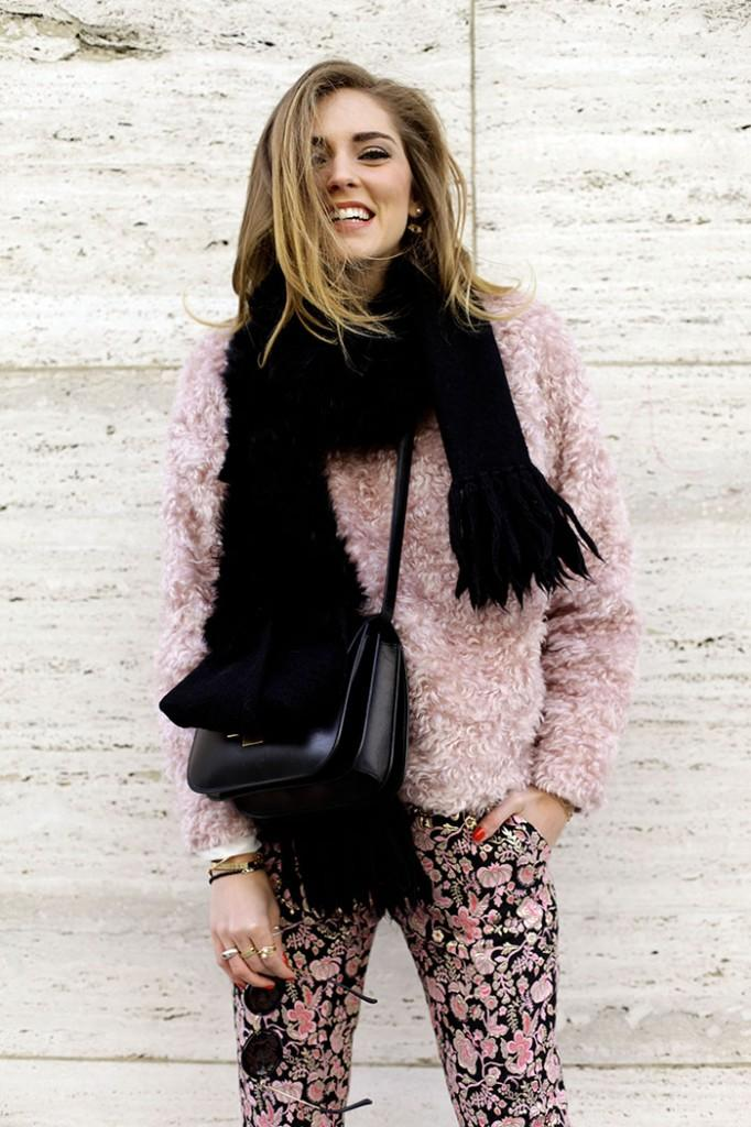 Chiara Ferragni in All Pink