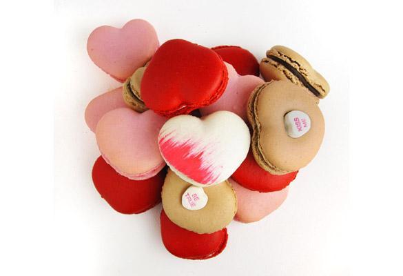 Valentine's Day Macaroons