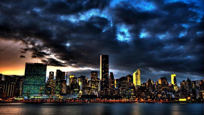 Cloud over Gotham
