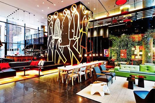 CitizenM Hotel Lobby