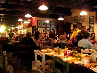 Osteria Morini dining room