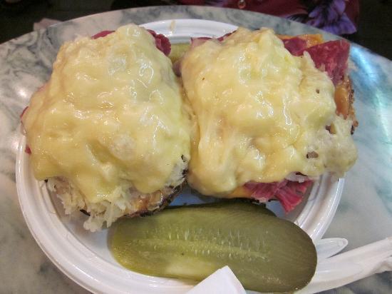 Reuben Bagel Sandwich