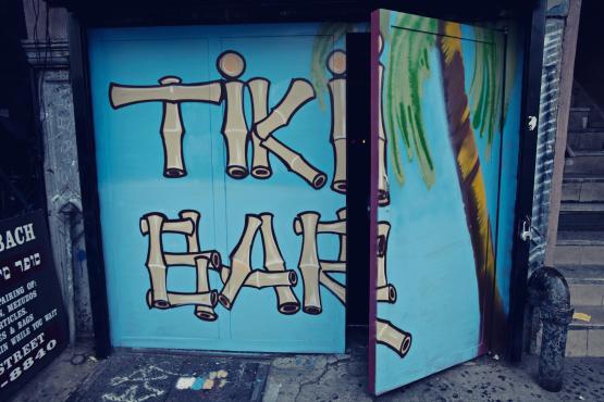 PKNY speak easy tiki bar