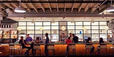 Royal Palm Shuffleboard Club Bar