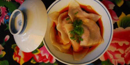 Spicy Wonton | Cafe China