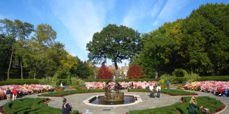 The Conservatory Garden