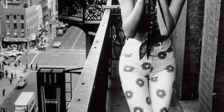Marilyn Monroe on New York Building