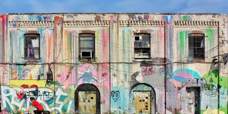 Graffiti in NYC - Greenpoint Brooklyn