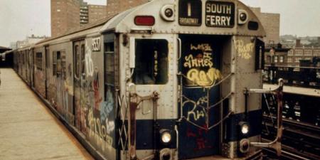 NYC Subway Graffiti