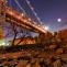 Night under the Brooklyn Bridge