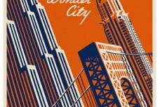 Retro New York City Travel Poster