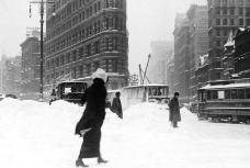 NYC Winter 1900: Flatiron