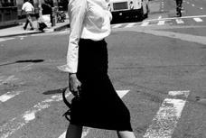 Norma Kamali Rauched Jersey Skirt