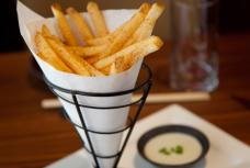 Spicy fries at mr. robota